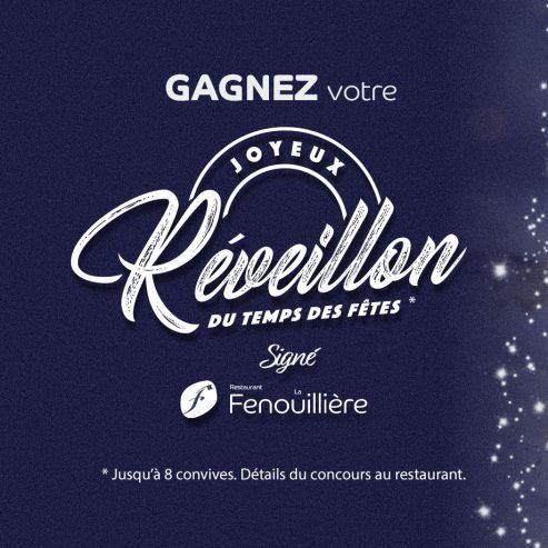 Concours : Joyeux Réveillon signé La Fenouillière